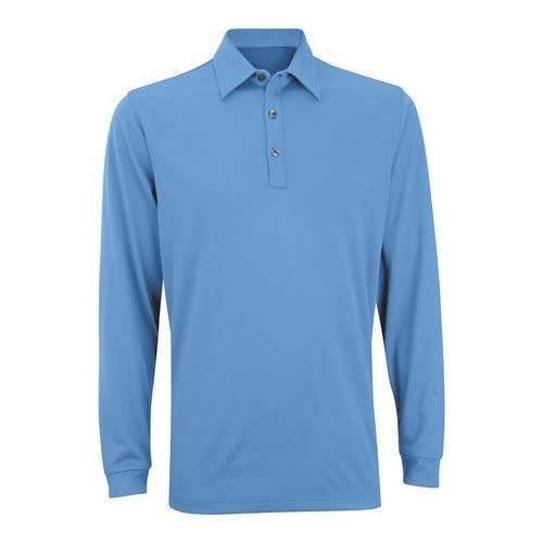 Ashworth Performance EZ SOF Long Sleeve Polo MEDIUM