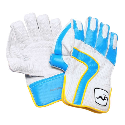 Woodworm Cricket iBat Players Leather Keeping Gloves