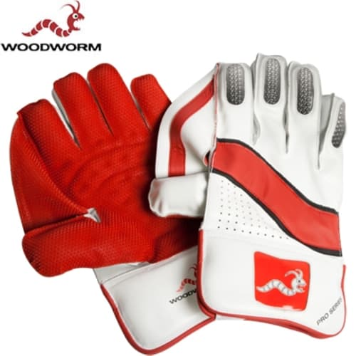 Woodworm Cricket Pro Series Wicket Keeping Gloves
