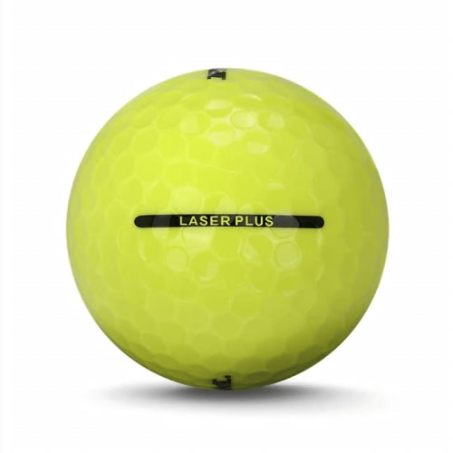 24 RAM Golf Laser Plus Golf Balls - Yellow