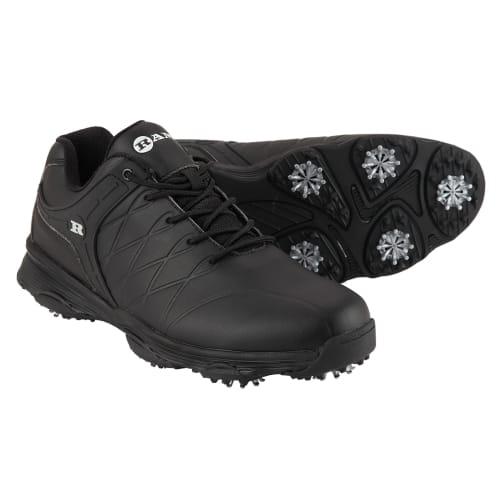 Ram Golf FX Tour Mens Waterproof Golf Shoes - Black