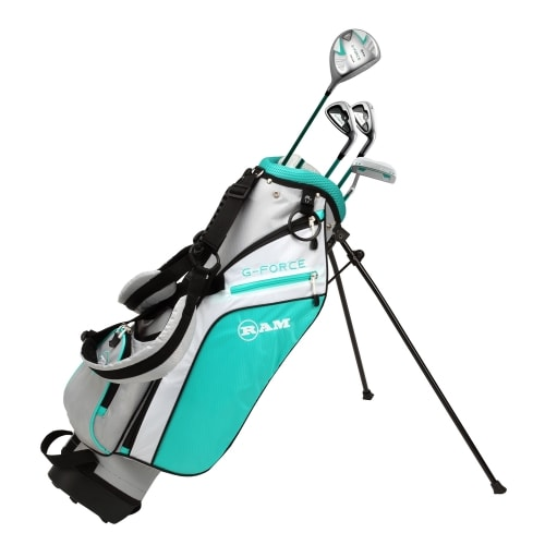 Ram Golf Junior G-Force Girls Golf Clubs Set with Bag - Lefty - Age 4-6