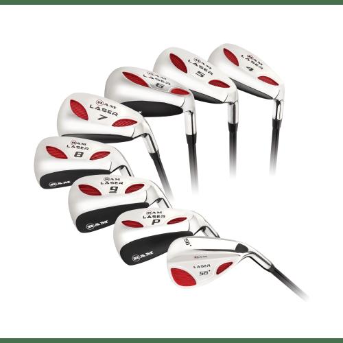 Ram Golf Laser Hybrid Irons Set 4-SW (8 Clubs) - Mens Right Hand - Graphite