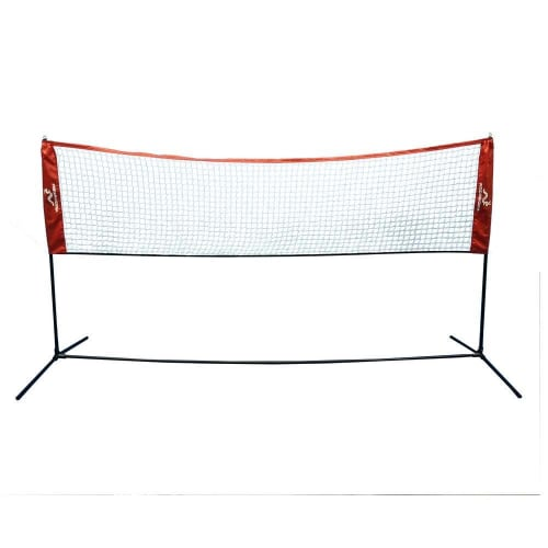 Woodworm 10ft x 5ft Portable Sports Net - Great for Badminton, Volleyball, Tennis and more
