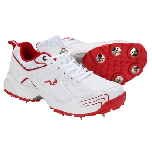 Woodworm Alpha Mens Spiked Cricket Shoes