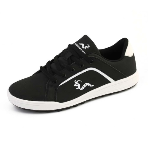 Woodworm Golf Surge V3 Mens Golf Shoes Black/White
