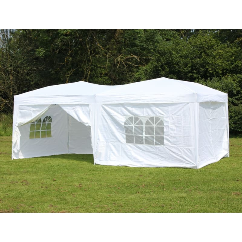 Palm Springs 10 x 20 EZ Pop Up Canopy w/6 sidewalls
