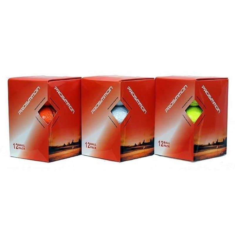 288 Prosimmon Titanium Tour Golf Balls: 3 Colors