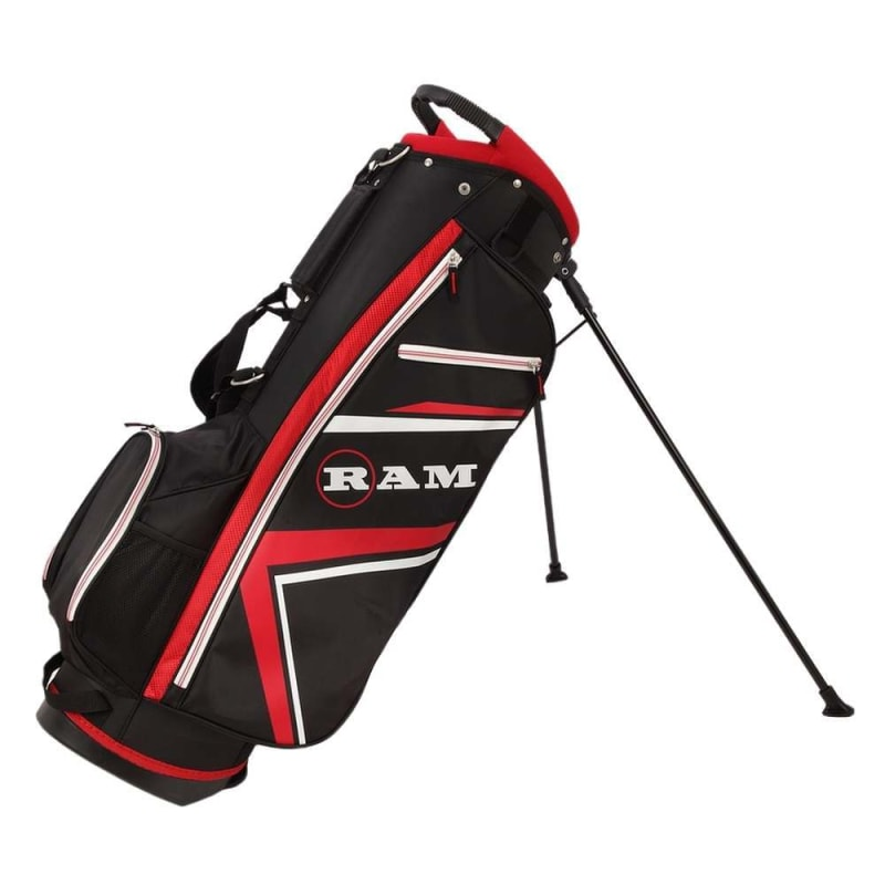 Ram Golf Accubar 16pc 1 Inch Longer Golf Clubs Set - Graphite Shafted Woods, Steel Shafted Irons - Mens Right Hand #7