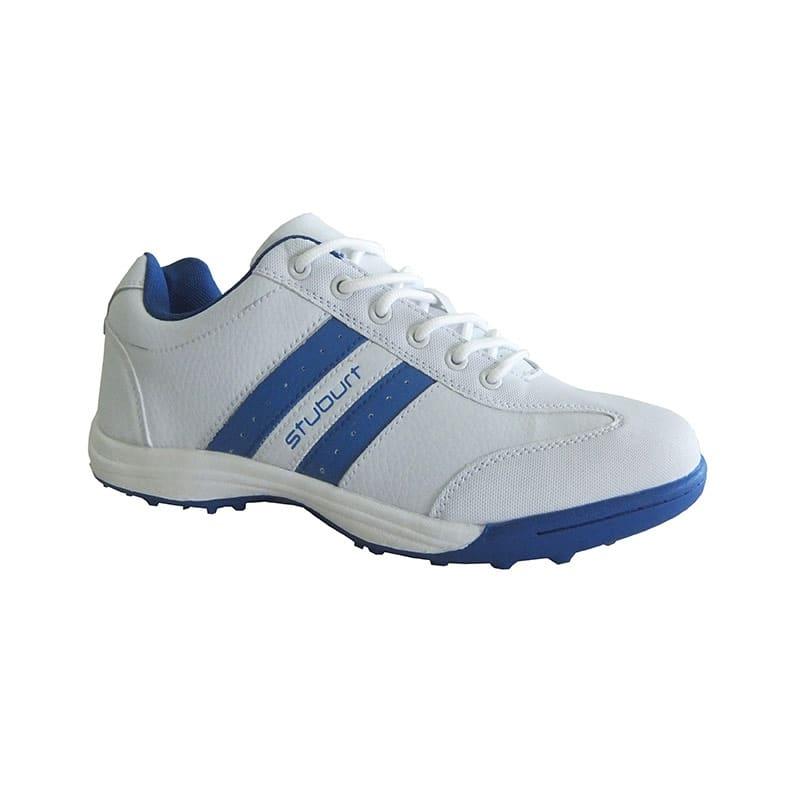 Stuburt Urban 2 Spikless Golf shoes- White/Blue