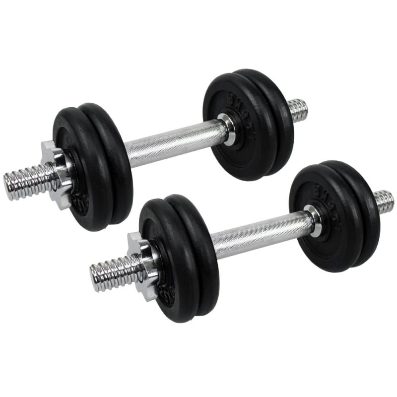 Confidence 15kg Dumbbell Weights Set