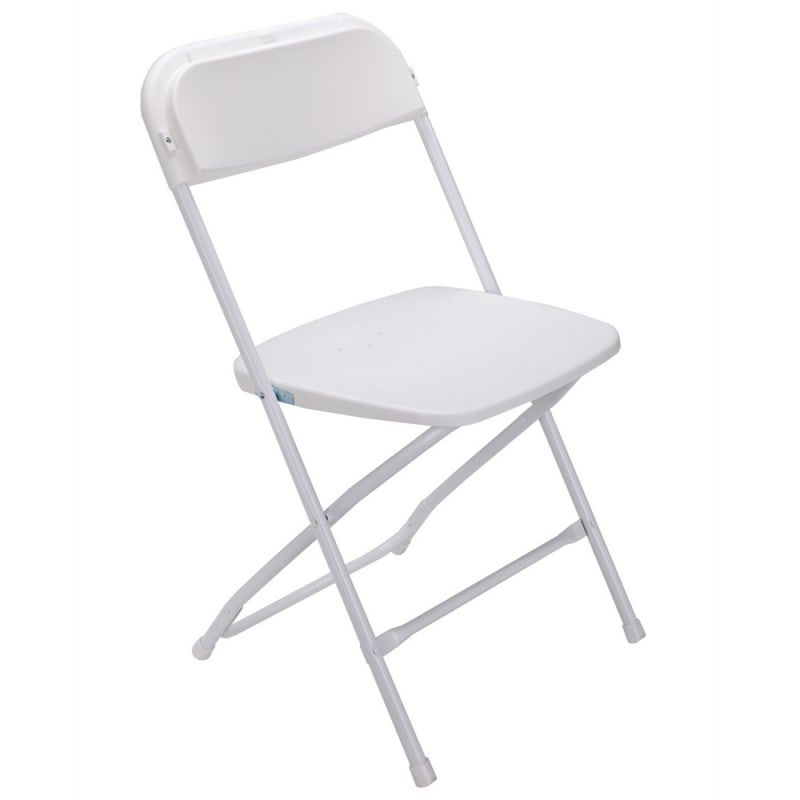 Palm Springs Heavy Duty Folding Plastic/Steel Chairs – 4 PACK #2