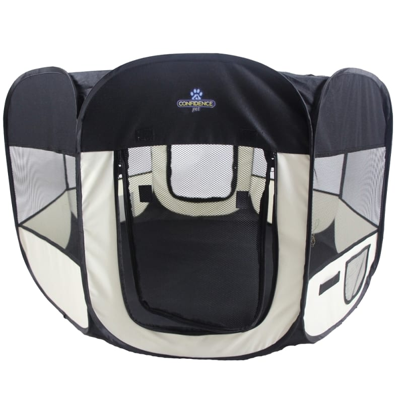 Confidence Pet Soft Fabric Playpen - Medium #4