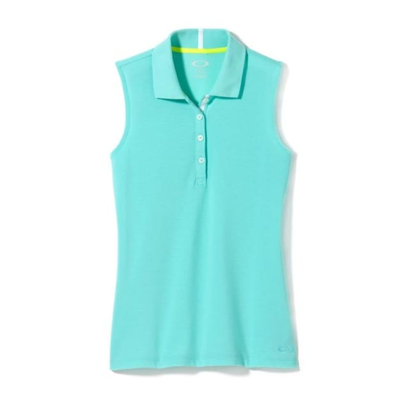 Oakley Ladies Zinger Polo - Seafoam Green