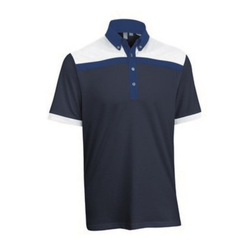 Ashworth Mens Blocked Polo