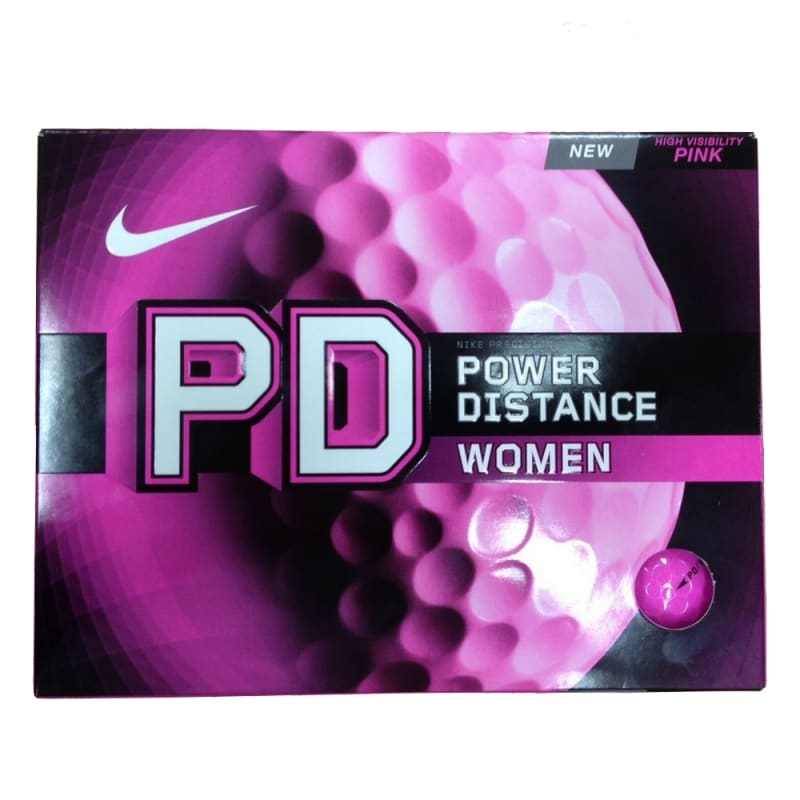 12 Nike Power Distance 8 Ladies Golf Balls