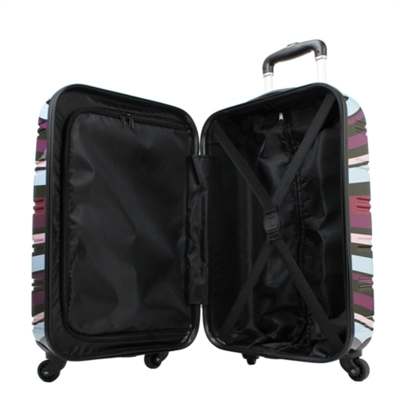 OPEN BOX Swiss Case 4W 2pc Suitcase Set Colorful #1