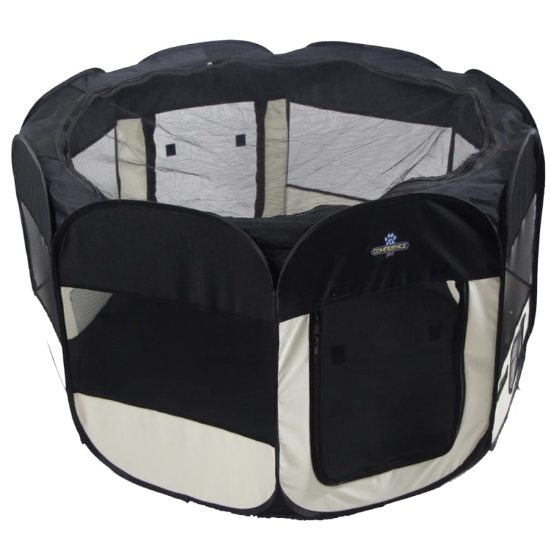Confidence Pet Soft Fabric Playpen - Medium #1