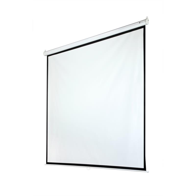 "OPEN BOX Homegear 118"" Manual 1:1 Projector Screen"