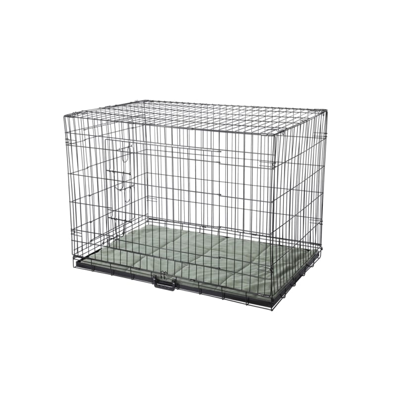 HQ Pet Dog Crate with Bed - X Large
