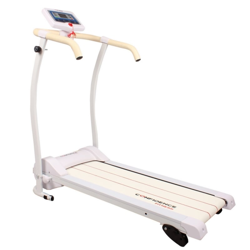 Ex-Demo Confidence Power Trac Pro 735W Electric Motorised Treadmill White