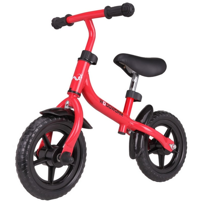 Woodworm Children's Learning / Balance Bike Red