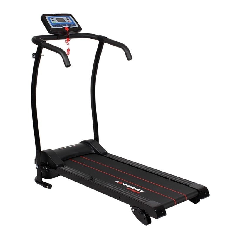 Confidence Power Trac Pro 735W Electric Motorised Treadmill Black