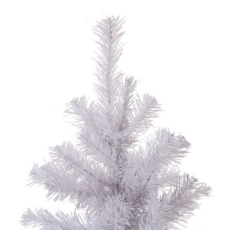 OPEN BOX Homegear 6ft White Artificial Xmas Tree #2
