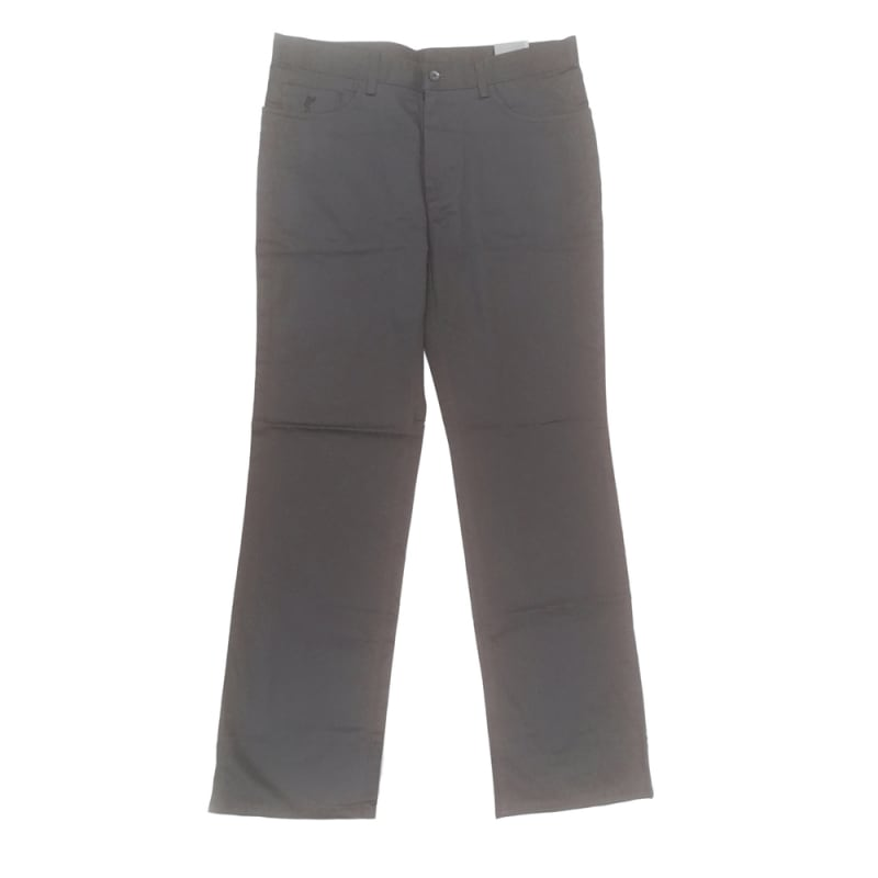 Ashworth Golf Mens Modern Golf Trousers - Dark Grey