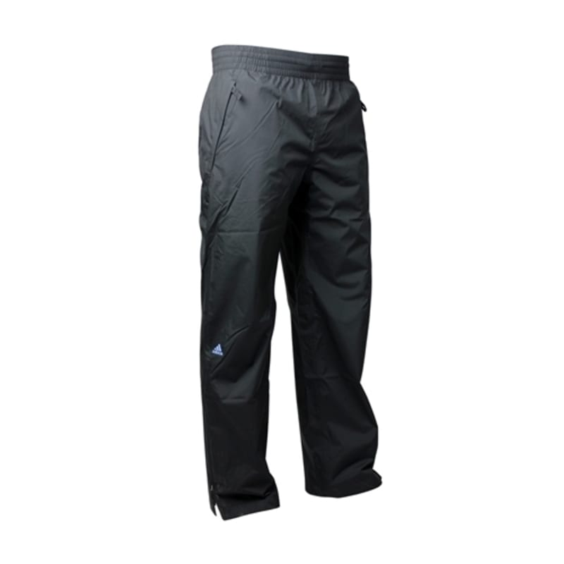 Adidas Mens Climaproof Rain Trousers - Black Medium