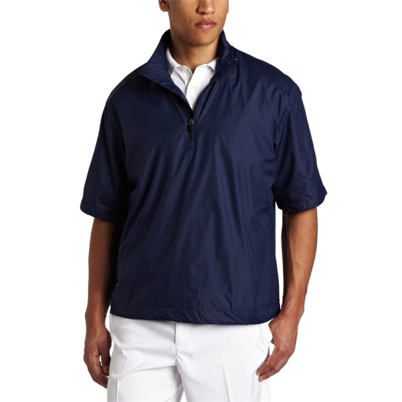 Callaway Gust Short Sleeve 1/4 Zip WindShirt Navy
