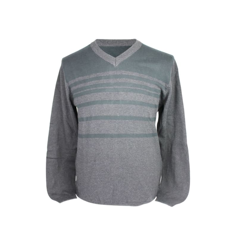 ASHWORTH V NECK JUMPER LIGHT KHAKI