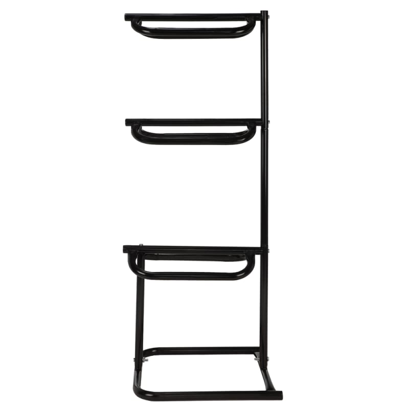 OPEN BOX Barnsby Saddlery Deluxe 3-Tier Saddle Storage Display Rack #1