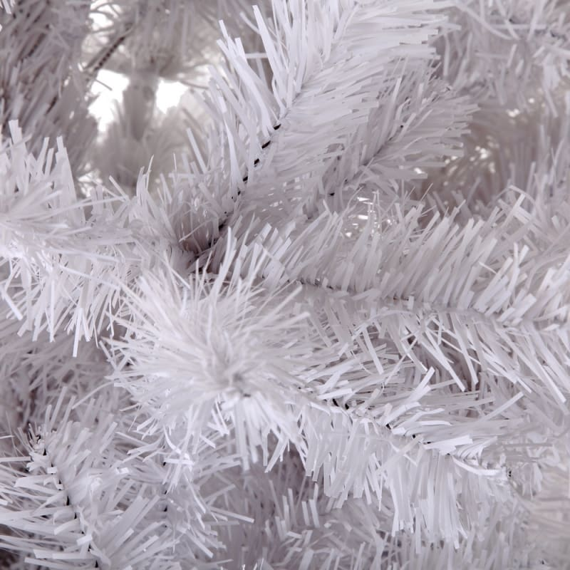 OPEN BOX Homegear 6ft White Artificial Xmas Tree #3