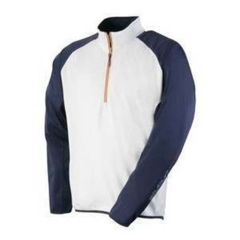 Stuburt Bonded Layer Fleece - White / Navy