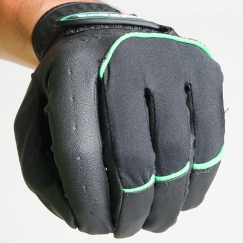 2 Forgan of St Andrews MENS AW Left Hand Golf Gloves Black #2