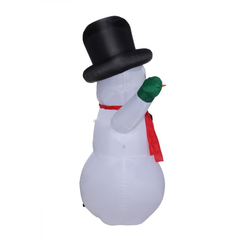 Homegear Christmas 6ft Inflatable Snowman For Indoor/Outdoor Use with LED Lights #2