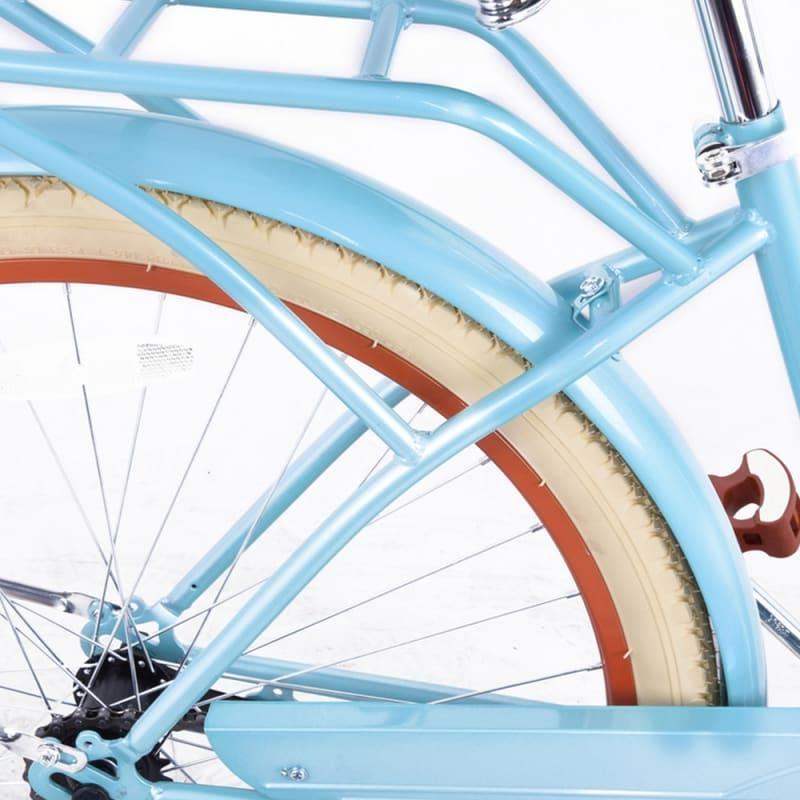 Royal London Retro Ladies Cruiser Bike with Basket #2