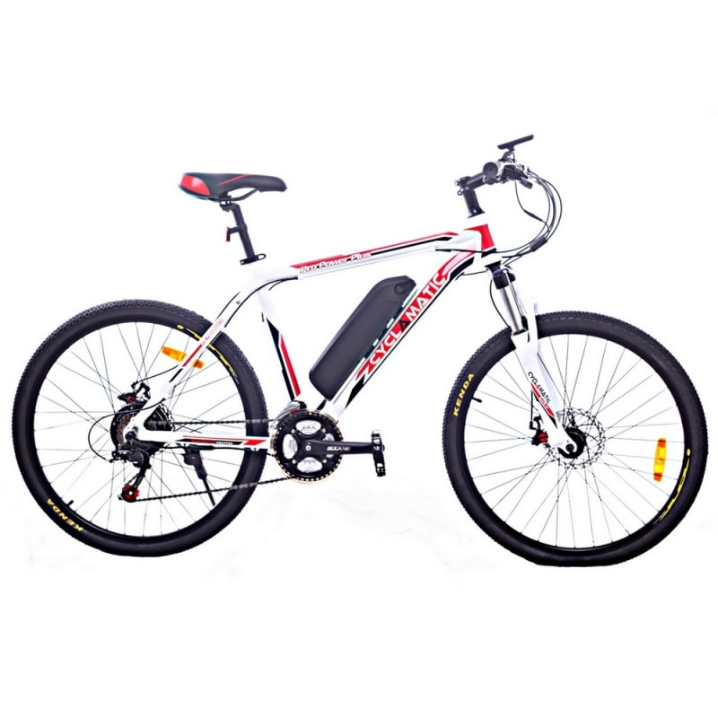 OPEN BOX Cyclamatic CX3 Pro Power Plus Alloy Frame eBike White/Red