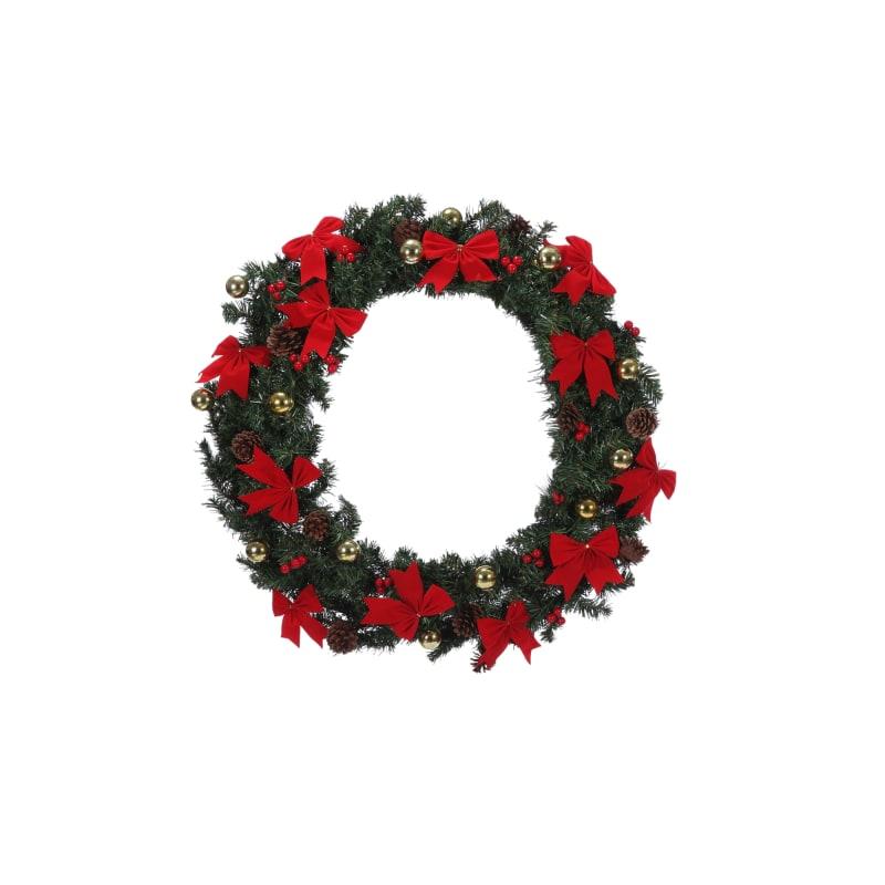 "Homegear 30"" Decorated Christmas Wreath"