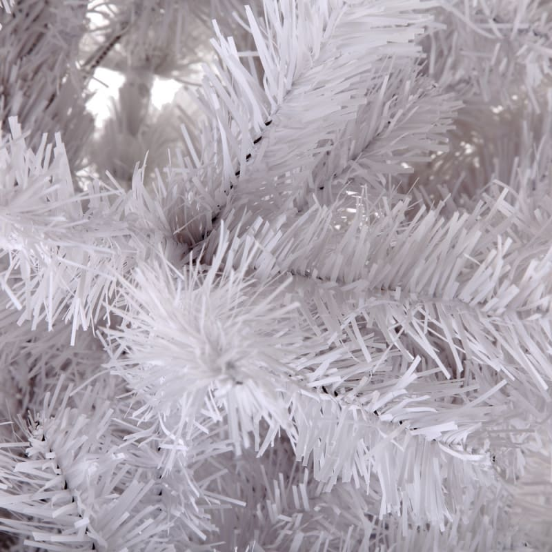 Homegear 6FT Artificial White Christmas Tree #4