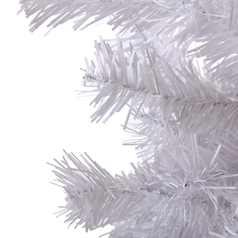 Homegear 6FT Artificial White Christmas Tree #5