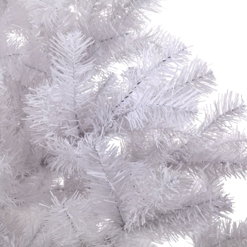 Homegear 6FT Artificial White Christmas Tree #6