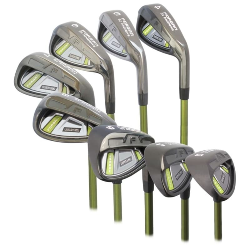 Forgan of St Andrews IWD2 Black Iron 4-SW Right Hand Set - Graphite Shaft and Regular Flex #