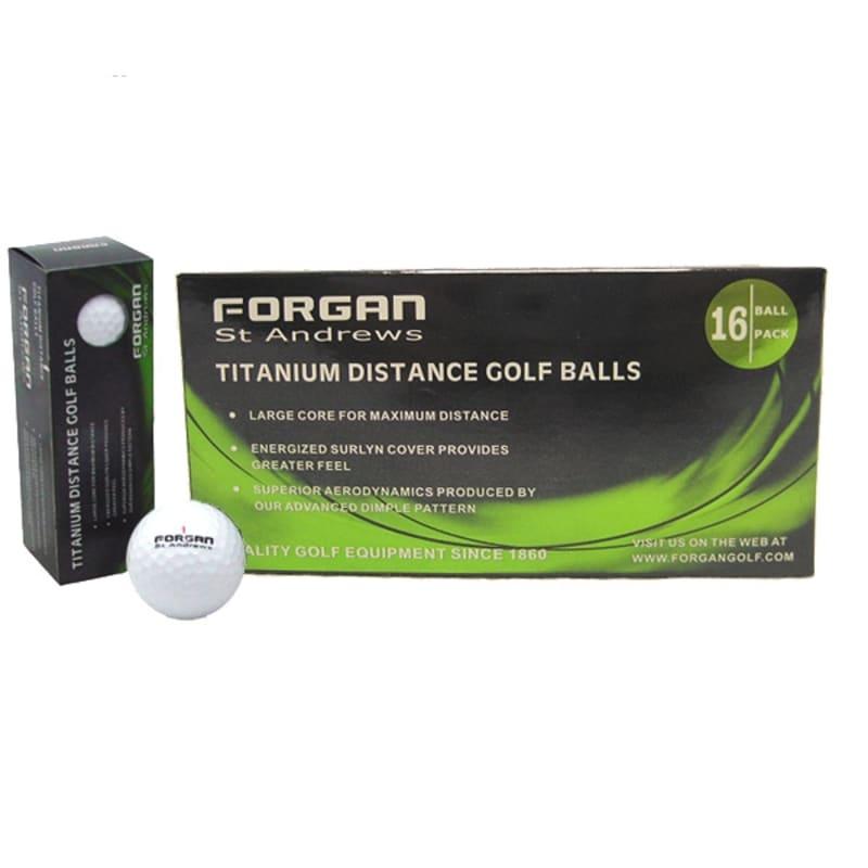 Forgan St Andrews TT 16 Golf Balls #