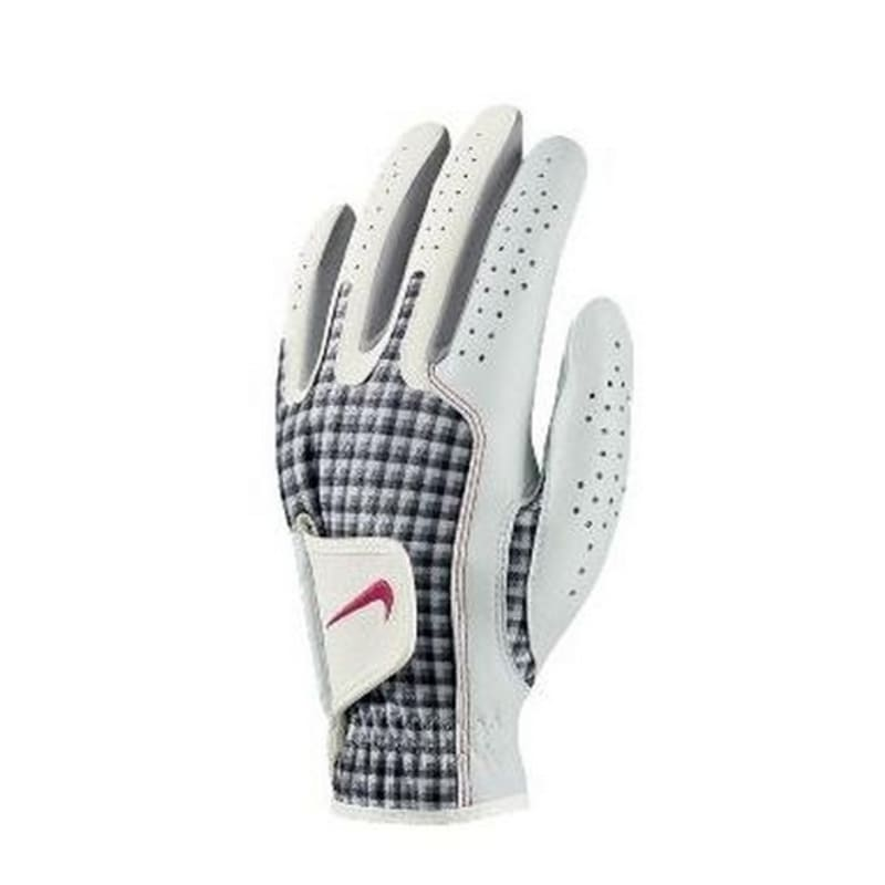 Nike Ladies Tech Xtreme Golf Glove - Left Hand Pink / White