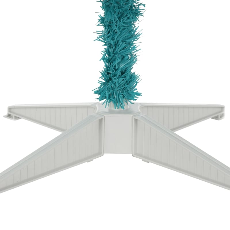 OPEN BOX Homegear 6FT Artificial Turquoise Christmas Tree #3