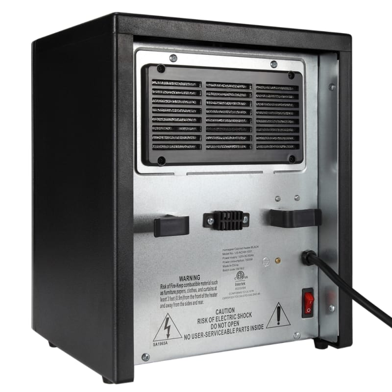 Homegear 1500W Compact Infrared Space Cabinet Heater #1