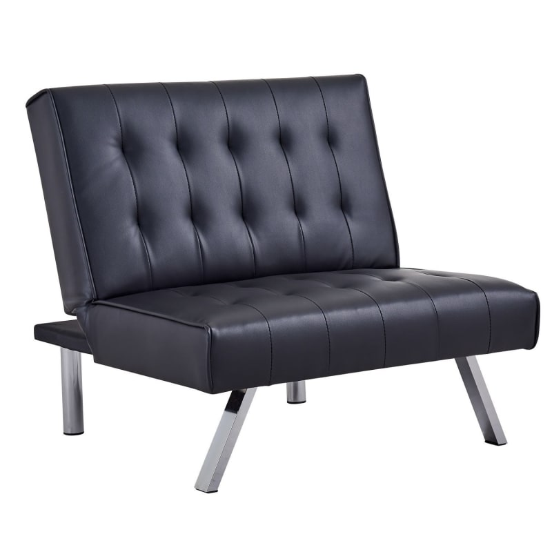 Homegear Split Back PU Leather Accent Chair / Flat Recliner #2