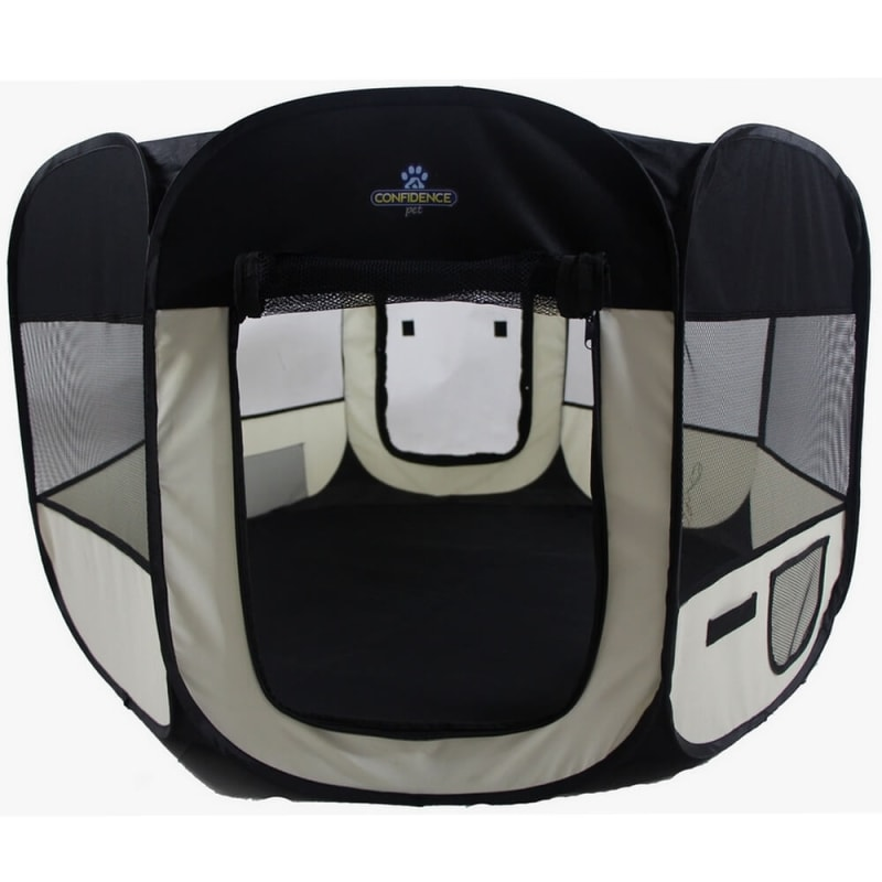 EX-DEMO Confidence Pet Soft Fabric Playpen - Large
